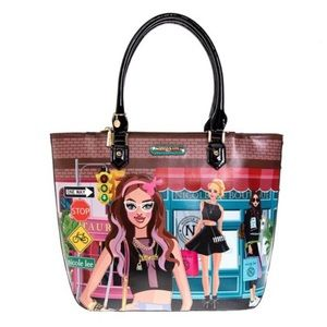 Nicole Lee USA Stylish Urban Shopper Bag
